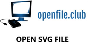open svg file
