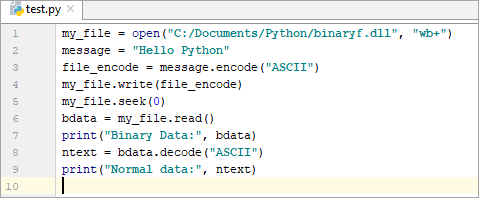 Open File With Python