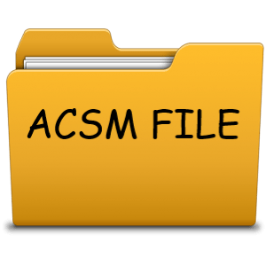 What is a ACSM File and how to open and convert it
